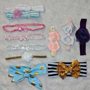 Baby Girl Headband Set
